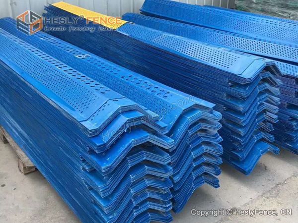 GFRP Wind Fence Panels China Factory