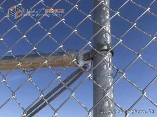 Rail End Chain Link Fence
