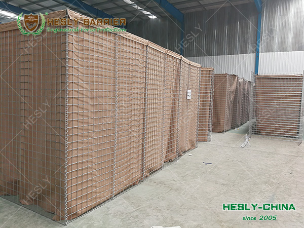 Military Gabion Barrier China Factory