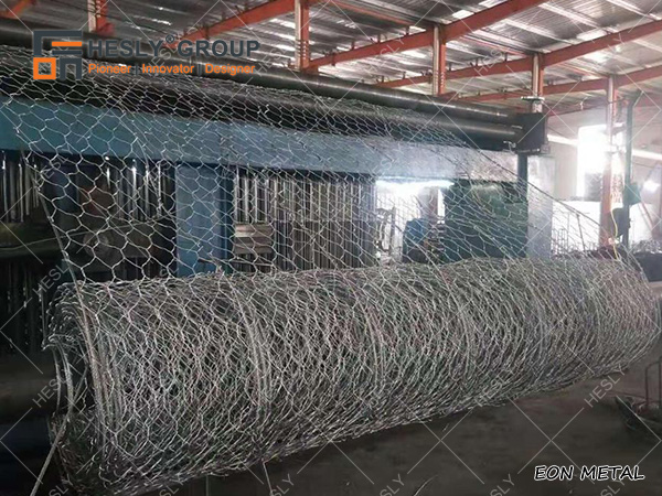 double twisted hexagonal wire netting